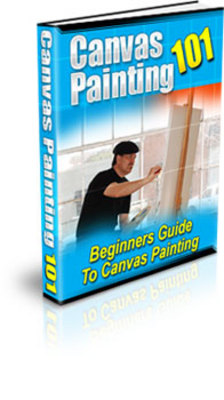 Product picture Canvas Painting-Become The Painter You Want to Be