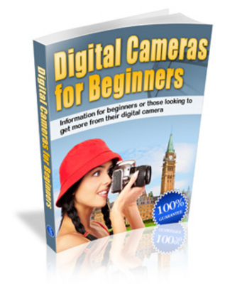 Product picture Digital Cameras For Beginners-Taking good photos